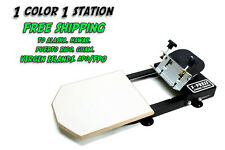 Silk Screen Printing Press 1 color/1station - FREE S/H TO AK, HI, PR, GU, VI, AP
