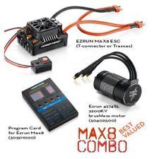 New Hobbywing MAX8 ESC Combo w/ EZRUN 2200KV Motor w/ Traxxas Plug