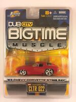 Jada DUB CITY BIGTIME Muscle 63 1963 Chevy Corvette Sting Ray Diecast 1/64 Scale