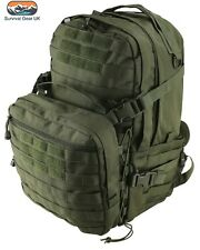 Green Recon Extra Assault Pack 50 Ltr BACK PACK KIT Tactique Sac airsoft cadet
