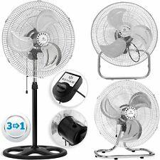 KESSER® 3in1 Ventilator Ø45cm Standventilator Bodenventilator Wandventilator