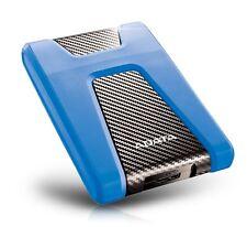 2TB AData Blue/Black HD650 DashDrive USB3.0 Portable Hard Drive