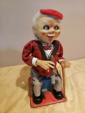 RARE OLD NOMURA MCGREGOR TIN MECHANICAL VINTAGE TOY BATTERY OPERATED JAPAN 1950