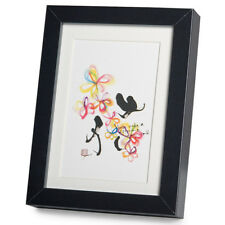 You Made a Difference Black Frame A5 Japanese Print