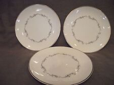 Set of 3 Royal Doulton Coronet Bread and Butter Plates