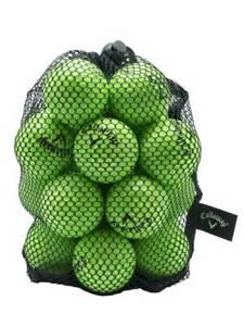 Callaway HX Practice Balls 18 Pack Green