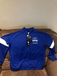 nike seattle seahawks football blue jacket NWT size XL womens