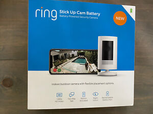 Ring Stick Up Cam Battery HD Security Camera (3rd Generation) with two-way talk