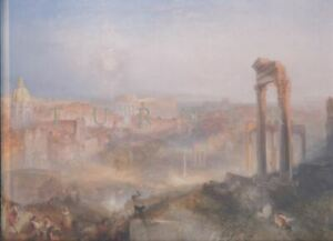 Sotheby's London Catalogue, Modern Rome - Campo Vaccino by J.M.W. Turner 2010 HB
