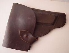 Makarov Pistol Gun Genuine Leather Russian Police Gun Holster Case Belt Attach