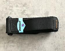 Genuine Timex Acqua Black 20mm x 25mm Nylon Fast Strap & Orange Logo No 1256