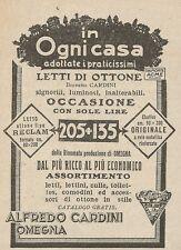 Z2025 Letti di ottone Alfredo Cardini - Pubblicità d'epoca - Advertising