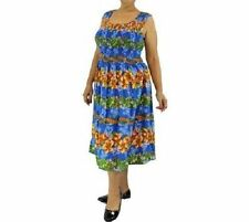 Rayon Knee-Length Summer/Beach Sundresses for Women