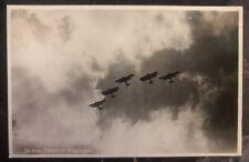 1930 Den Helder Netherlands RPPC Postcard Cover The Kooy Plane