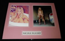 Nicole Eggert Signed Framed 16x20 Photo Set AW Charles in Charge