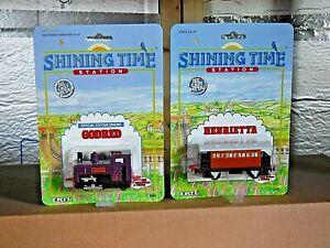 Shining Time Station Engine GODRED & Henrietta the Coach  NIP (951)