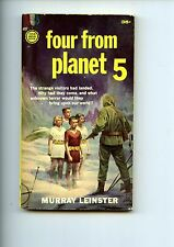 FOUR FROM PLANET 5, Murray Leinster, 1st  Gold Medal S937 US  SB VG