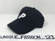 Palace Skateboards Fw16 Ripstop 6 Panel P Camp Hat Cap Navy Blue Curved Peak fa59a1725bd0