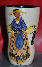 Vase signé LE BRESCON de Vallauris année 70 céramique collection