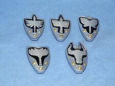 POWER RANGERS MYSTIC FORCE SERIE COMPLETA DI 5 accendere gli scudi per Rangers