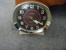 Vintage Big Ben Wind Up Alarm Clock, Oval Face USA