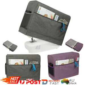 Home Sewing Machine Cover With Pockets Protective Portable Dust Cover Sun Shade