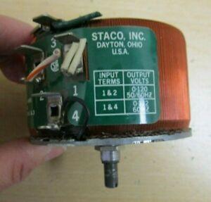 Staco  Type 171  Transformer