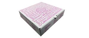 100 x Waffle Crepe Pancakes Cookie Dough Dessert Boxes Sweets Box Take Away Food