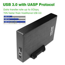 Wavlink USB3.0 to SATA External Hard Disk Drive Enclosure Case with Power Switch