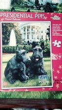 """Presidential Pets"" [550 Piece Puzzle] White Mountain Puzzles by Howard Robinson"