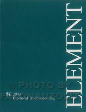 2009 2010 2011 Honda Element Electrical Troubleshooting Manual Wiring Diagram