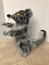Rat Halloween Prop Paper Magic Group 2001 Vinyl Evil Rodent 16� Tall