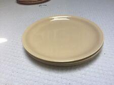 """Vintage Homer Laughlin Fiesta Jubilee Cream Beige 9"""" Plate (1)"""