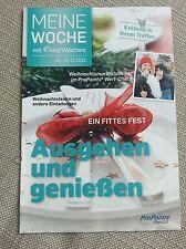 """Weight Watchers """"Meine Woche"""" Heft 18.-24.11.2012 ProPoints Plan 2.0"""