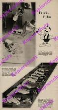 O. photo report UFA Cartoon Artist Studio Camera Cartoon Mickey Mouse 1931