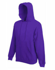 Sudaderas de hombre Fruit of the Loom morado