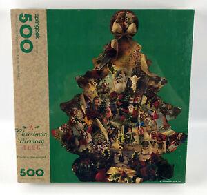 "A Christmas Memory Tree Springbok 500 Piece Puzzle - 24"" x 30"""
