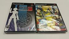 Shin Megami Tensei Persona 3 & 4 Dual Pack (PS2 Sony PlayStation 2) Brand New