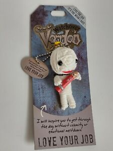 """Watchover Voodoo Doll  Love Your Job  3"""" New Lucky Charm"""