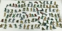 Vintage Plastic Army Men job lot Military Toy Soldiers 5cm tall