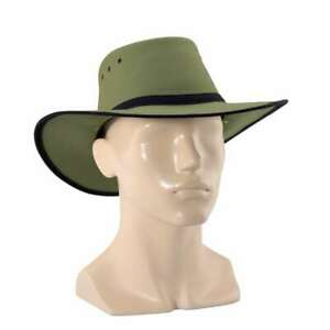 Newcastle Hats Canning Hat (Standard) Canvas Wide Brim