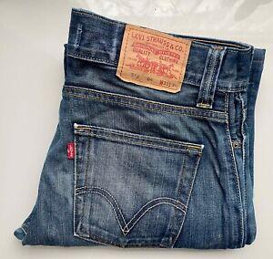 #Vintage# LEVI's Original Jeans Denim Bootcut 512 Schlaghose W33 L32 blau LEVIS