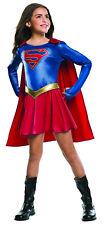 Girls Supergirl Costume TV Series Superhero Halloween Size Medium 8-10