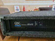 More details for qsc power amplifier