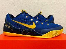 Nike Kobe 9 IX EM Gym Blue University Gold Bryant Basketball (646701-474) 11.5