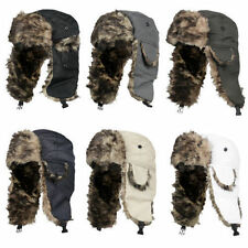 2017 Winter Womens Mens Earflap Warm Trapper Aviator Trooper Cap Russian Ski Hat