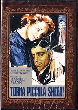 TORNA PICCOLA SHEBA! (1952 Daniel Mann) Burt Lancaster DVD NUOVO