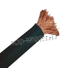 3M Black Copper Welding Cable 35mm² (2AWG) Battery Cable Solar Panel Earth