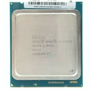 Intel Xeon E5-2667 v2-3.3 GHz 6 Cores 8 GT/s QPI 130 W (SR19W) Socket 2011 CPU