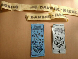 Police Academy Silly Citations Kenner Warner Bros 1988 USED, VERY RARE!